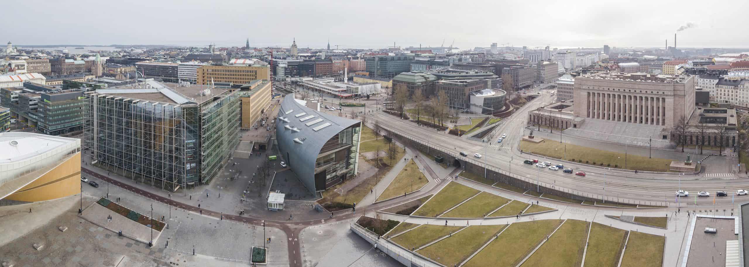 Marjut Uusmäe - Kuvia Helsingistä - Keskusta