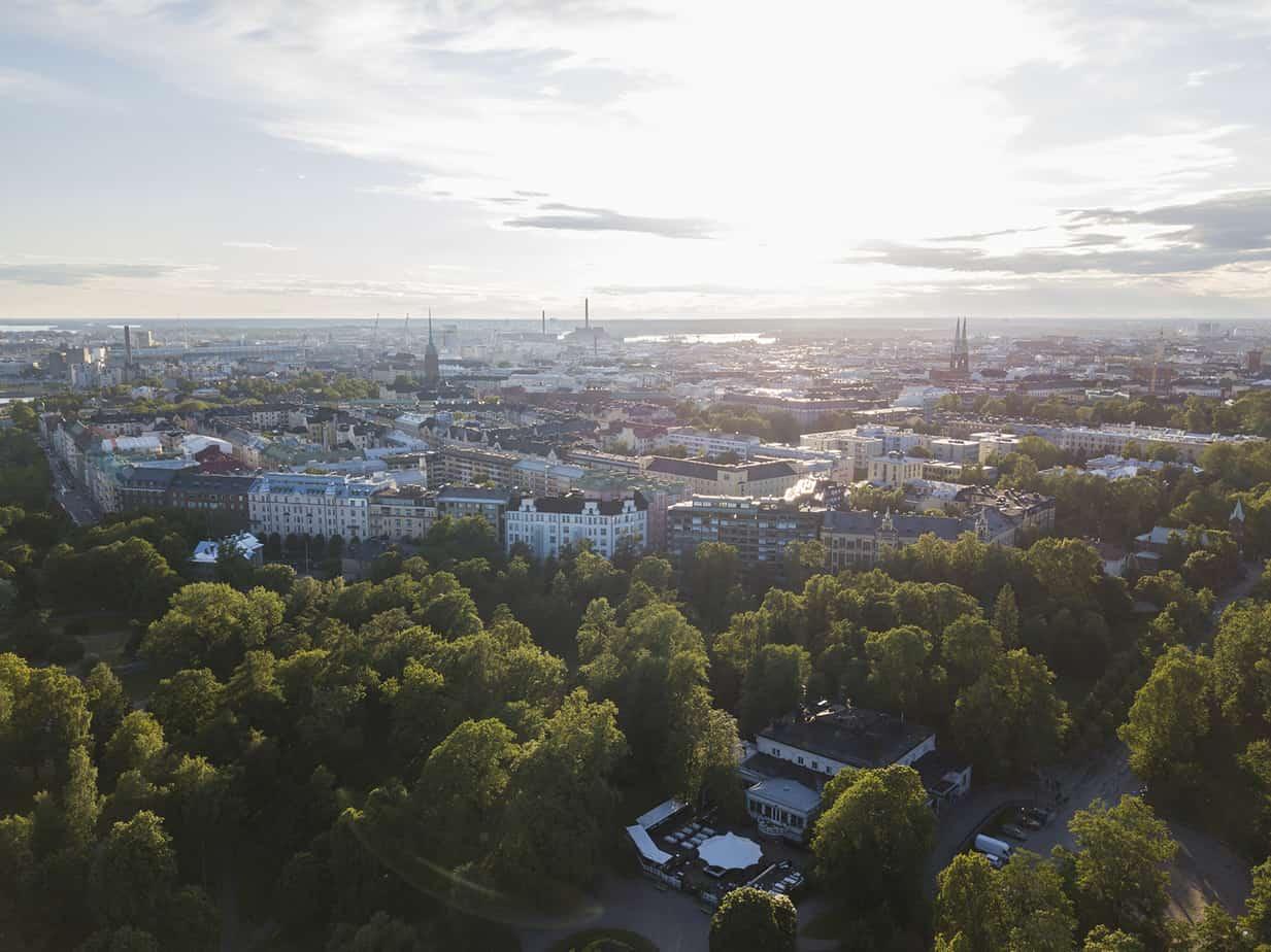 Marjut Uusmäe, kuvia Helsingistä, Kaivopuisto