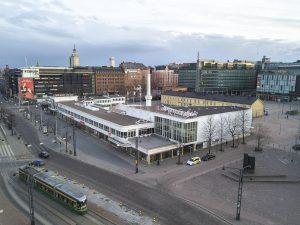 Marjut Uusmäe, kuvia Helsingistä, Lasipalatsi