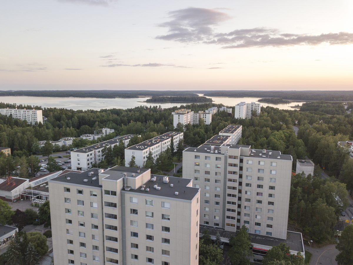 Näkymä Espoon Soukkaan